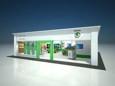 Skoda Pop-Up Showroom Design