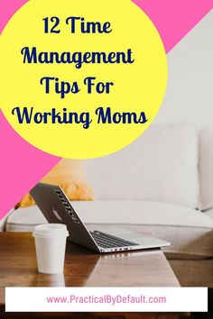 12 Practical Time Management Tips For Working Moms - Single Working Mom - Ideas of Single Working Mom - Because no matter how hard we try we cant add that one extra hour in our day. 12 Time Management Tips For Working Moms start getting stuff done today! Time Management Tools, Time Management Strategies, Working Mom Tips, Working Mom Schedule, School Schedule, Special Needs Mom, Work From Home Moms, Career Advice, Mom Advice