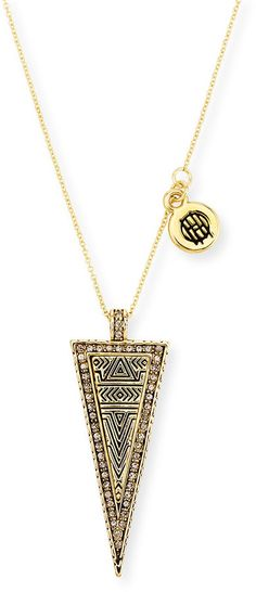 House of Harlow Sparkling Periphery Pendant Necklace