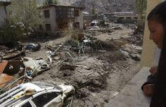 Grote ravage in Oost-Java na de vulkaanuitbarsting in 2010
