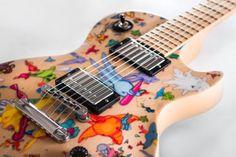 La Gibson Les Paul è diventata un'opera d'arte   CHOOZEit