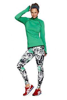 Wildest Workout Gear: Printed Leggings, and How to Wear 2015's Color of the Year