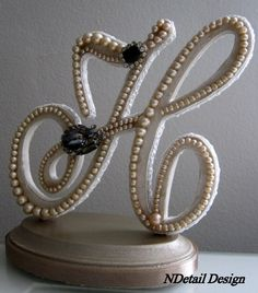 Wedding Cake Topper & Display Art Deco or Nouveau by NDetailDesign, $105.99
