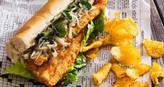 Recipe: Chef Edward Lee's Fried Trout Sandwiches Fish Recipes, Seafood Recipes, Pasta Recipes, Game Recipes, Summer Savory, Mouth Watering Food, Edward Lee