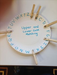 This craft addresses fine motor because it facilitates pinch and grasp patterns, in-hand manipulation, and the development of hand strength. It also provides the student with letter recognition. Alphabet Activities, Educational Activities, Preschool Activities, Activities For 4 Year Olds, Visual Perceptual Activities, Leadership Activities, Preschool Letters, Preschool Lessons, Group Activities