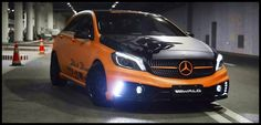 Mercedes A-Class Performance-Kit by Wald International #mbhess #mercedes #mbtuning #wald