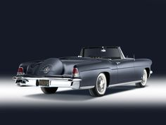 What classic lines - 1956 Lincoln Continental Mark II Convertible