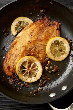 Easy Tilapia Piccata: when you need dinner to be ready in 15 minutes.   ibakeheshoots.com