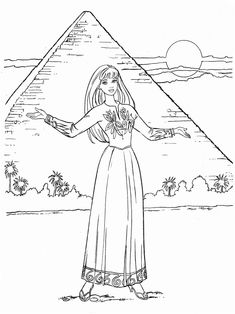 Barbie Coloring Pages, Disney Coloring Pages, Coloring Pages For Kids, Coloring Sheets, Colouring, Adult Coloring, Coloring Books, Mattel Barbie, Drawing People