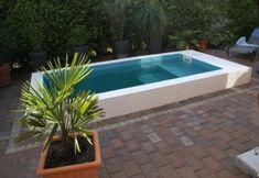 Mini Pool, Pool Fountain, Small Pools, Garden Pool, Jacuzzi, Outdoor Decor, Balconies, Porches, Garden Ideas