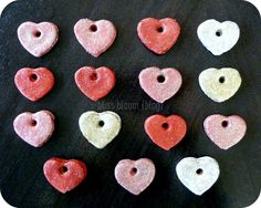 salt dough gift tags / mini ornaments