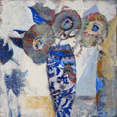 Another little still life...6x6 inches...judy thorley