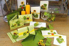 Lern how to make sunflowers