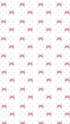 BOWS Bow Wallpaper, Kawaii Wallpaper, Pattern Wallpaper, Iphone Wallpaper, Cute Backgrounds, Cute Wallpapers, Wallpaper Backgrounds, Scrapbook Paper, Scrapbooking