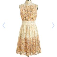 "New Modcloth Windy City Confetti Dress - Large - (prettier buttons put on dress) - B - 38""  W - 29""  - $40"