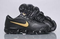 new arrival 8df99 0428a Cheap Nike Air VaporMax 2018 Flyknit Leather  black  gold Men shoes Only  Price  65 To Worldwide Free Shipping. cheapcurry30 · Nike Air Max 2018 shoes
