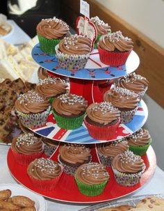 Mocha cupcakes for my son's baptism - from the 'Cupcake Magic' book Magic S, Magic Book, Mocha Cupcakes, Desserts, Food, Tailgate Desserts, Deserts, Essen, Postres