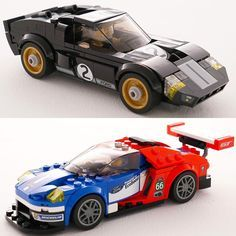 Ford GT 40 e o novo Ford GT: superesportivos ganham versão Lego Bólidos americanos viraram brinquedos Lego numa comemoração dos 50 anos de história dos dois superesportivos. Objetivo é inspirar as futuras gerações de pilotos engenheiros e designers do setor automotivo. A coleção chamada Lego Speed Champions inclui os dois carros miniaturas dos pilotos bandeira quadriculada e até um troféu para a recriação das históricas vitórias. Além dos dois novos carrinhos a Lego também tem kits do…