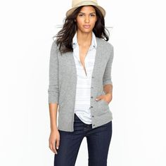 Cashmere V-neck cardigan ($178) ❤ liked on Polyvore featuring tops, cardigans, white cashmere cardigan, v neck 3/4 sleeve tops, white 3 4 sleeve cardigan, three quarter sleeve cardigan and white v neck top