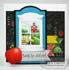 BACK TO SCHOOL by Tammie E - Cards and Paper Crafts at Splitcoaststampers