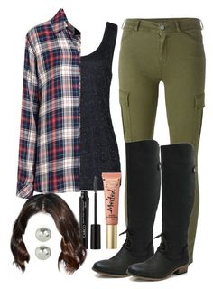 """Malia Tate 5x10 ""Status Asthmaticus"" Outfit"" by lili-c ❤ liked on Polyvore featuring Reiss, Rails, 7 For All Mankind, Marta Jonsson, Sephora Collection, CARGO and Accessorize"