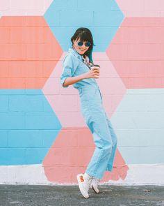 98a276ab60b2 Big Bud Press mint jumpsuit Style Diary