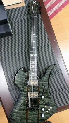 Halo custom guitars merus 7 multi scale fanned fret with bare sometimes if you want something done right you have to do it yourself bc sciox Gallery