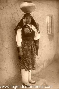 Isleta Pueblo Woman, 1910 by Legends of America, Native Americans and compassionate people are the real masters of earth 4 life, conquerors are just robots 4 murder and genocide, wake up world and don't support evil in any way, go vegan and self-sufficient, http://dammebleustartgate2freedom.blogspot.ca/2013/09/how-to-heal-radiation-and-cancer-with.html
