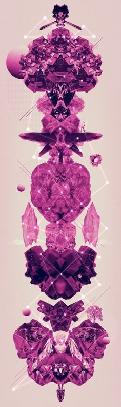 Amethyst by Carolina Niño, via Behance
