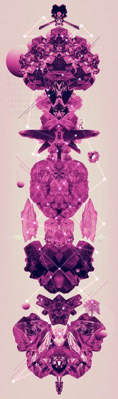 Amethyst by Carolina Niño, via Behance