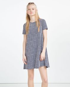MID-LENGTH DRESS-View All-DRESSES-WOMAN | ZARA United States