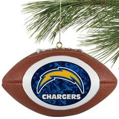 a very cool ornament featuring the ever awesome San Diego Chargers~ ~*~moonmistgirl~*~