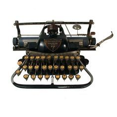 1800s typewriter.
