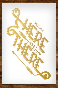 Here There / Alex Perex #type #lettering