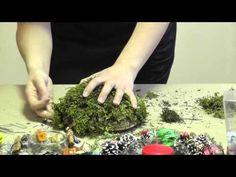 Флорист Елена Рогачева показывает как использовать мох для изготовления новогодних подсвечников, и делится секретом мастерства — как сделать так, чтобы мох в...