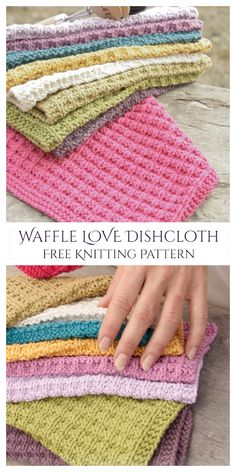 Knitted Dishcloth Patterns Free, Knitted Washcloths, Animal Knitting Patterns, Crochet Dishcloths, Knit Or Crochet, Crochet Patterns, Crochet Ideas, Knitting Yarn, Free Knitting