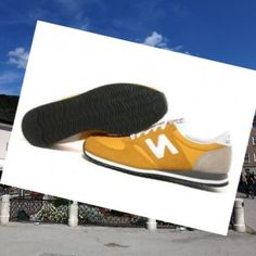 New Balance 420 Classics Suede Unisex Trænere Gul-Hvid,Don't regret ,that's modern sneakers hot style with 80% off is here.