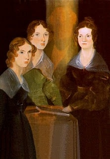 Anne, Emily and Charlotte Brontë by  their brother Branwell, who painted  himself out of the picture