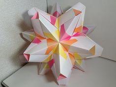 【Modular Origami】とらぺすけA30枚組【ユニット折り紙】3 - YouTube