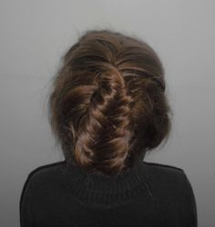 The Fishtail braid you can pin in the back of your head and create a new look