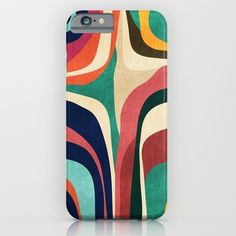 Impossible contour map iPhone & iPod Case