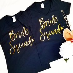 Wedding Invites☆Graphic Print (@azettadesignstudio) on Instagram Team Bride | Women's Cotton T shirts | Bridal Party | Bridesmaids | Bride Tribe | Maid of Honour | Bachelorette | Bridal Shower