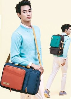 Samsonite RED EASY WAY BACKPACK_GREY My Love from the Star Kim Soo-hyun BACKPACK #SamsoniteRED #Backpack