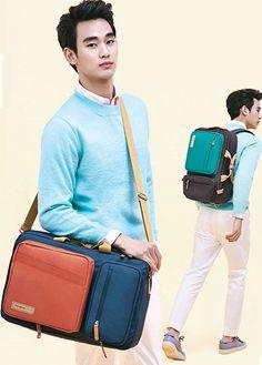 Samsonite RED EASY WAY BACKPACK_GREY My Love from the Star Kim Soo-hyun BACKPACK #SamsoniteRED #Backpack