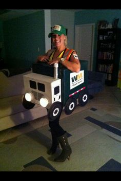 miniDIY: monster truck halloween costume!   fiesta float ...