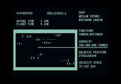Alien (1979)  Status screen (approximation)
