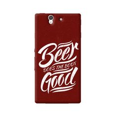 Beer Does Good Sony Xperia Z Case from Cyankart