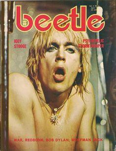 Iggy Pop, Beetle Magazine 1974