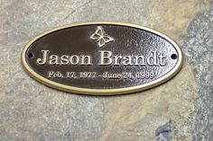Bronze plaques & emblems are used everyday for hundreds of different applications. Use your bronze memorial plaque to dedicate, memorialize, recognize, or guide people. With a huge range of customization options, we can guarantee a one of a kind  metal plaque is possible when ordering from Advantage Signs & Graphics.