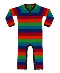 Villervalla tivoli rainbow stripe romper - loveitloveitloveit
